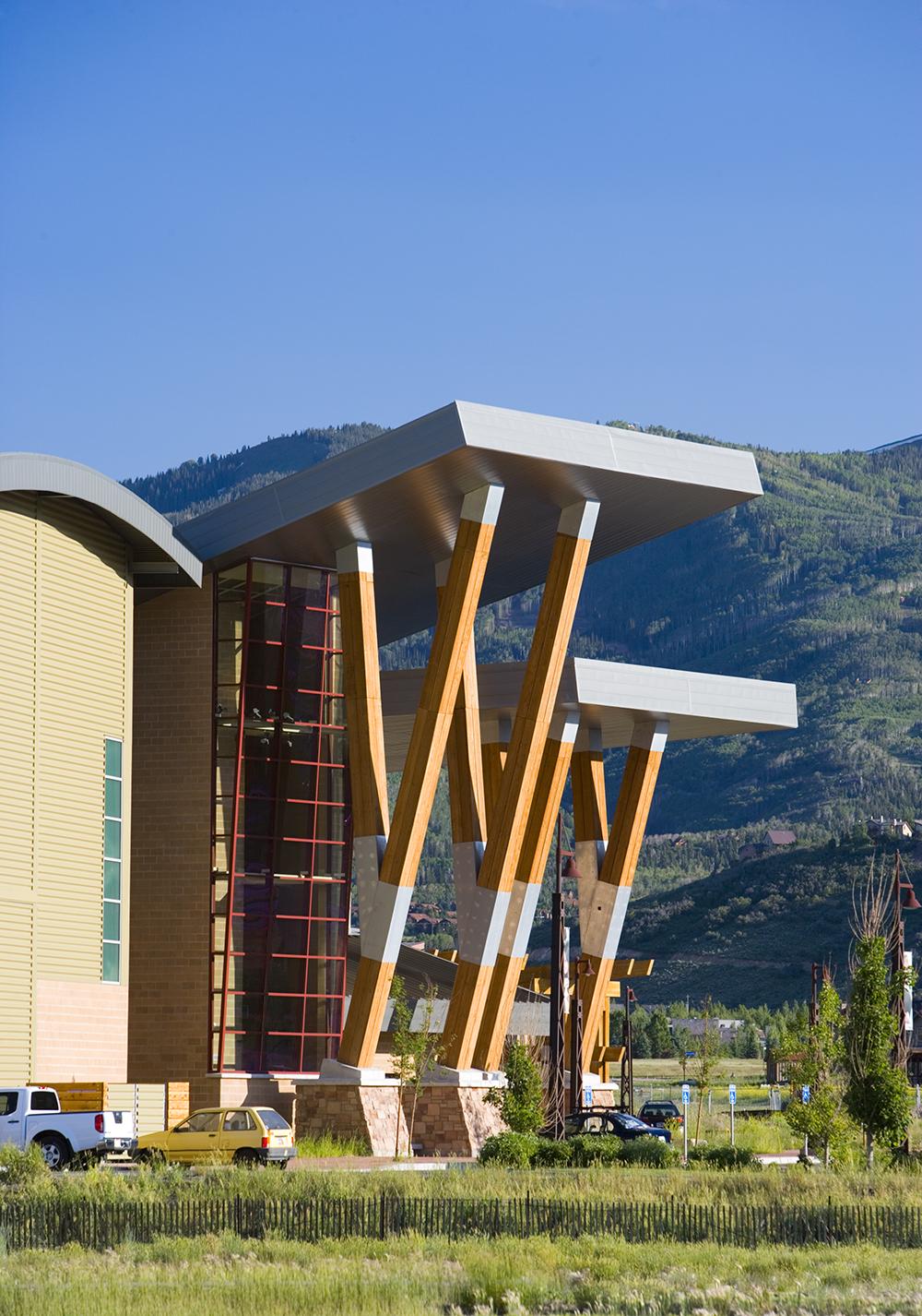 Multi-purpose recreation center design in Park City