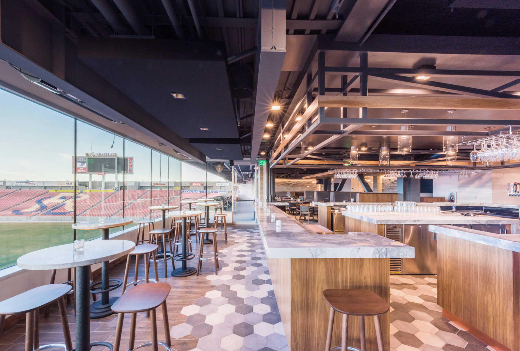 Zagg Brands Executive Club At Rio Tinto Stadium