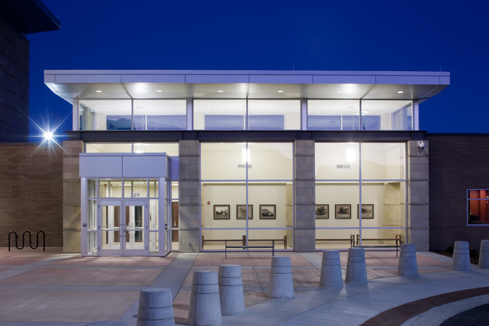 Spanish Fork Fourth District Courts & City Police Facility