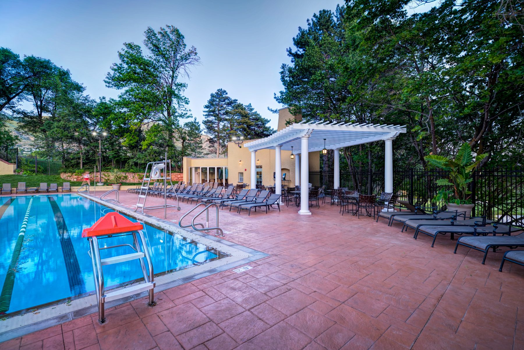 Salt Lake City Country Club Pool & Cabana