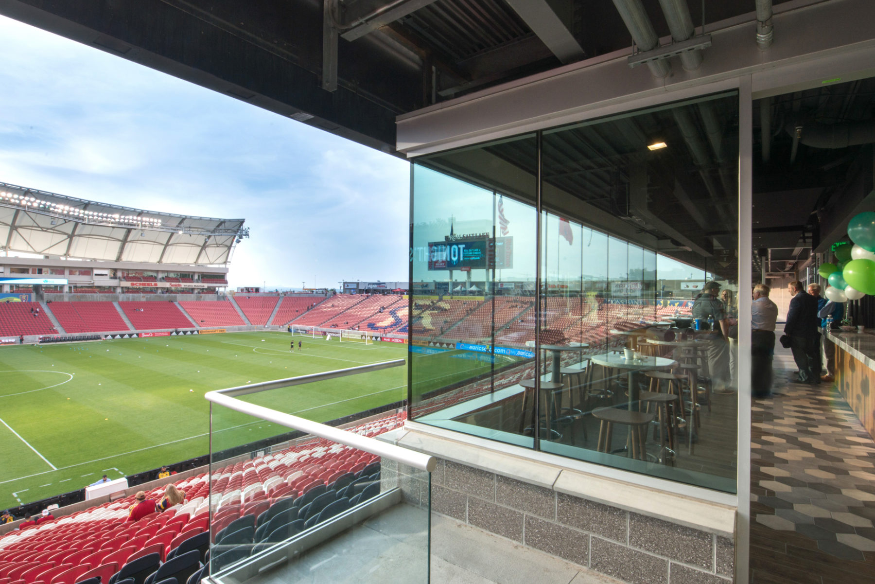 Audi Executive Club At Rio Tinto Stadium